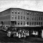Chinese workers at the Sampson Shoe Factory 1870