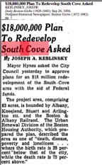 12. $1800000 Plan to Redevelop South Cove