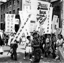 Anti-Japanese Parade