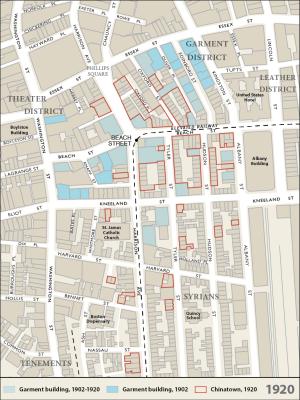 1920 – Beehive Map
