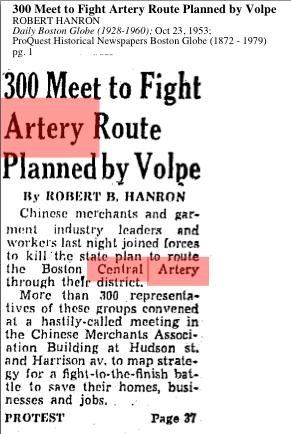 Boston Globe 1953